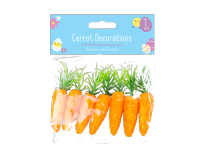 Easter Bonnet Carrot Decorations (7)